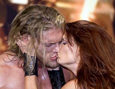Edge Lita Lita And Edge in Romantic